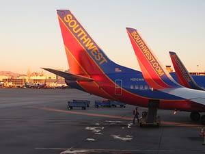 southwest flight to vegas