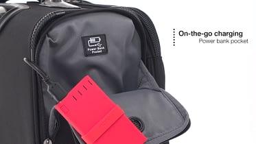 TravelPro Crew 11 External USB Port