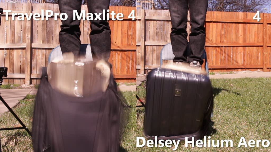 TravelPro and Delsey Carry-on 1