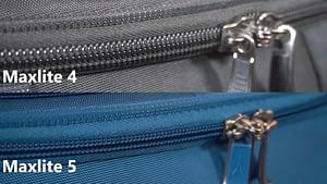 travelpro maxlite zipper size 1