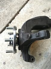 2004 mazda 3 new wheel bearing