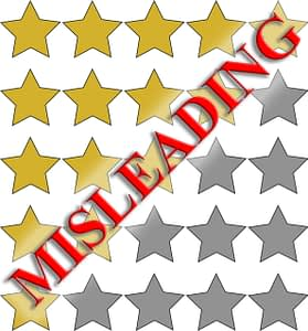 Misleading Amazon Ratings