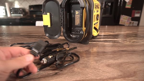 Best Portable Tire Inflator DC Cord storage