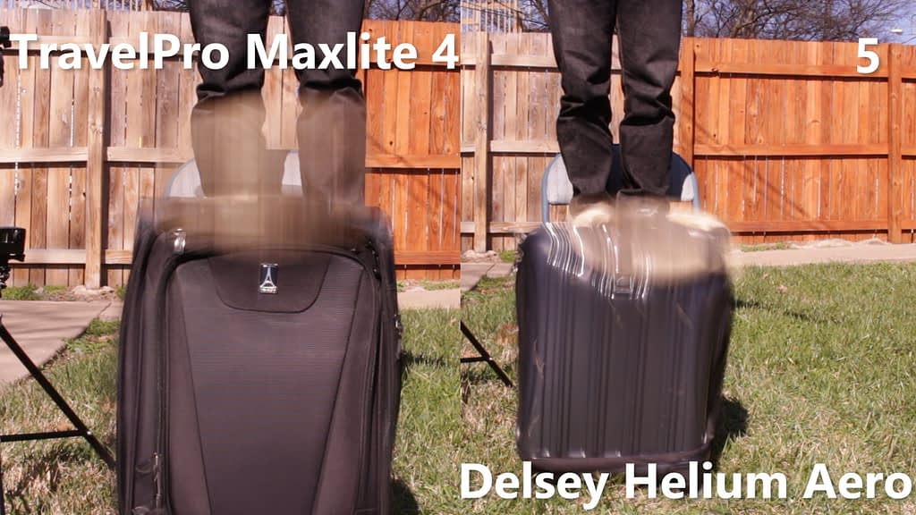 TravelPro and Delsey Carry-on 3