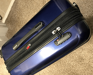 Delsey Helium Aero Spinner Carry-on Review TSA approved lock