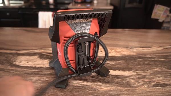 Best Portable Tire Inflator Milwaukee Cord Storage
