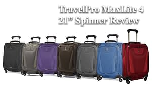 """TravelPRo MaxLite 4 21"""" Inch Spinner Review"""