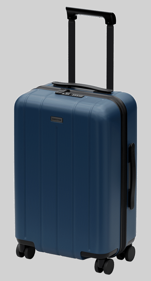 chester carry on ocean blue
