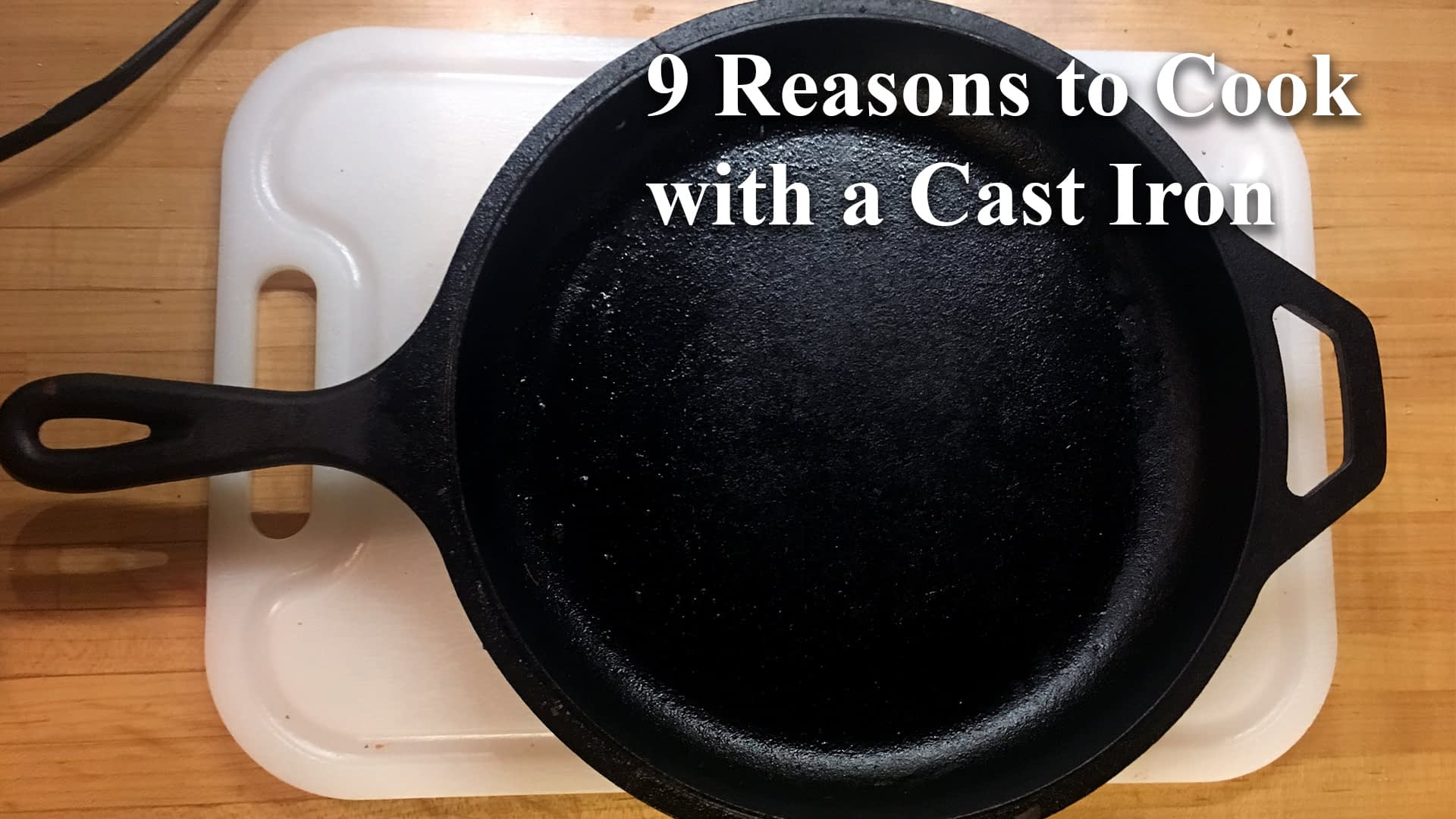 Reasons to cook with a cast iron